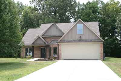 Dyersburg Single Family Home For Sale: 225 Rosemont Cove