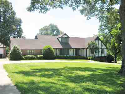 Dyersburg Single Family Home For Sale: 242 Quail Hollow