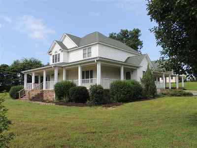 Newbern Single Family Home For Sale: 305 Adkins Cemetery
