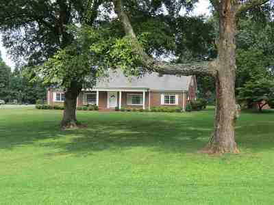 Dyersburg Single Family Home For Sale: 2000 Lake