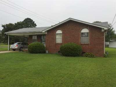 Dyersburg Single Family Home For Sale: 2100 Volunteer