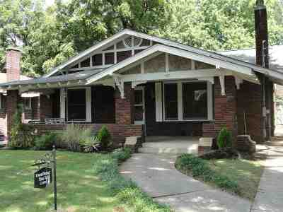 Jackson TN Single Family Home For Sale: $112,000