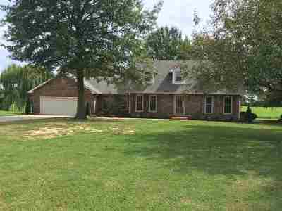 Dyersburg Single Family Home For Sale: 2226 Indian Trace