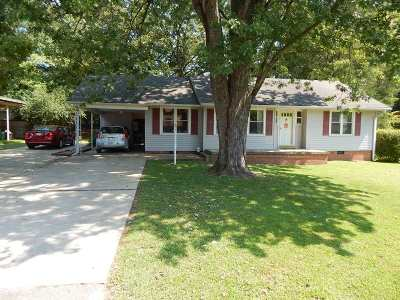 Dyersburg Single Family Home Active-Price Change: 307 Williams