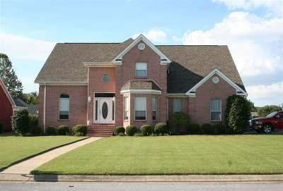 Dyersburg Single Family Home For Sale: 1685 Wedgewood