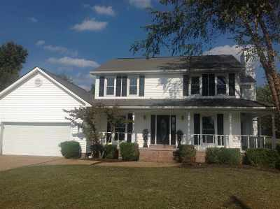 Dyersburg Single Family Home For Sale: 1404 Yellow Twig