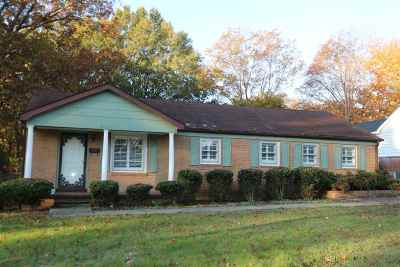 Milan Single Family Home For Sale: 4021 Ragsdale Dr