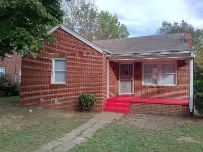 Jackson Single Family Home For Sale: 132 Lenoir