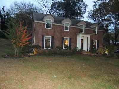 Dyersburg Single Family Home For Sale: 200 N Lattawoods