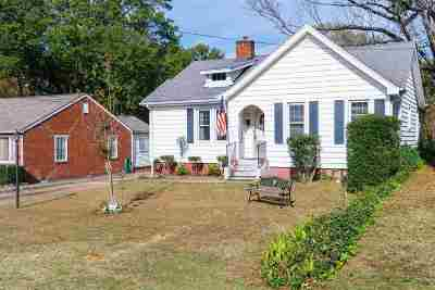 Jackson TN Single Family Home For Sale: $69,900
