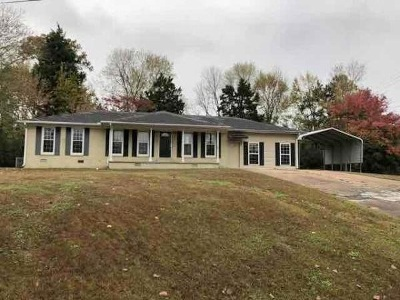 Jackson TN Single Family Home For Sale: $67,250