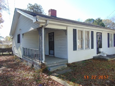 Jackson TN Single Family Home For Sale: $12,000
