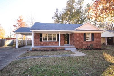 Jackson TN Single Family Home For Sale: $94,500