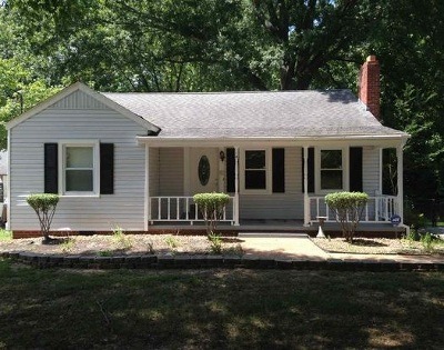 Jackson TN Single Family Home For Sale: $78,900