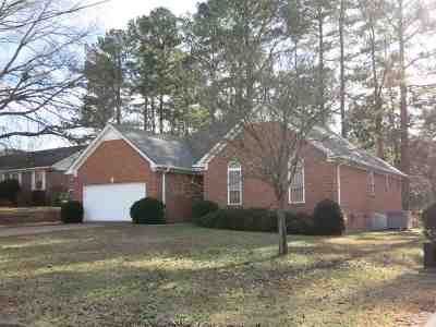 Jackson TN Single Family Home Back On Market: $114,000