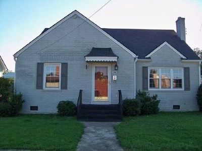 Trenton Single Family Home For Sale: 306 S College