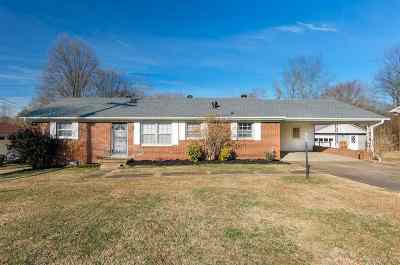 Jackson TN Single Family Home For Sale: $81,900