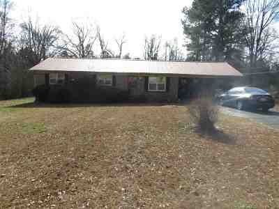 Jackson TN Single Family Home For Sale: $82,825