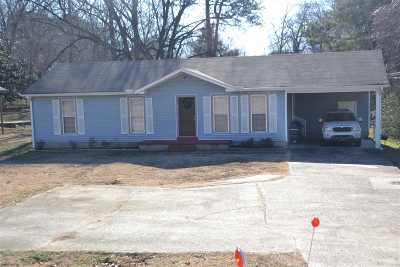 Jackson TN Single Family Home For Sale: $84,500