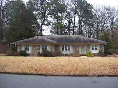 Jackson TN Single Family Home For Sale: $109,000