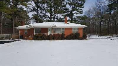 Jackson TN Single Family Home For Sale: $89,900