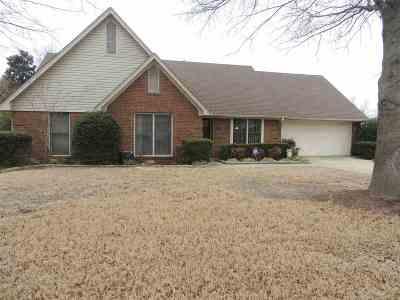 Dyersburg Single Family Home For Sale: 159 Woodside