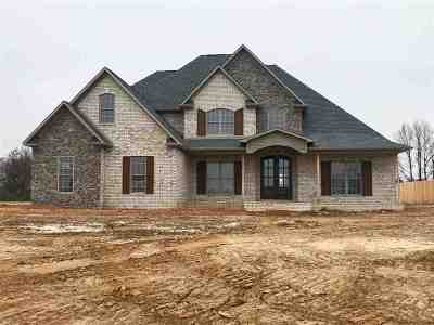 Gibson County Single Family Home For Sale: Lot 407 Hale Farm