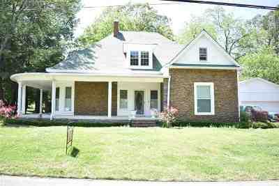 Newbern Single Family Home For Sale: 201 N Jackson