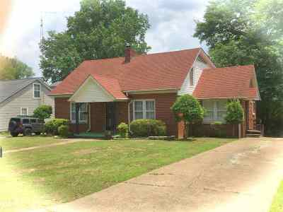 Dyersburg Single Family Home For Sale: 928 Summers