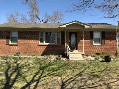 Single Family Home For Sale: 1217 R J Welch Rd
