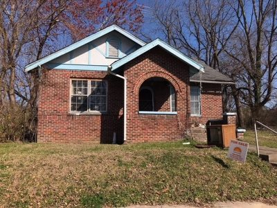 Jackson TN Single Family Home For Sale: $16,900
