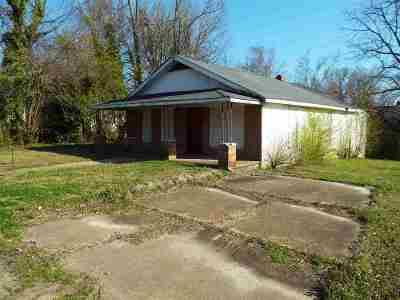 Jackson TN Single Family Home For Sale: $15,000