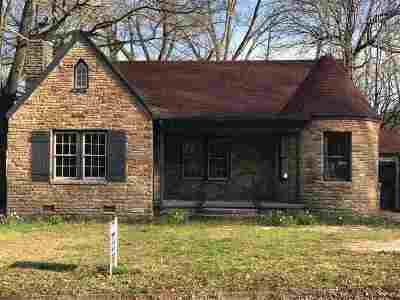 Jackson Single Family Home For Sale: 323 W Forest