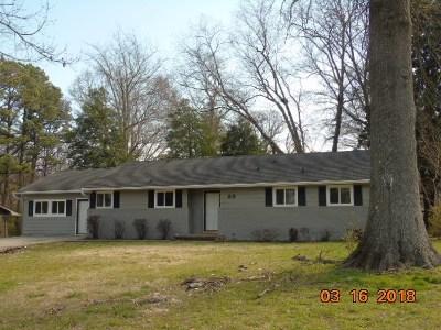 Jackson TN Single Family Home For Sale: $124,900