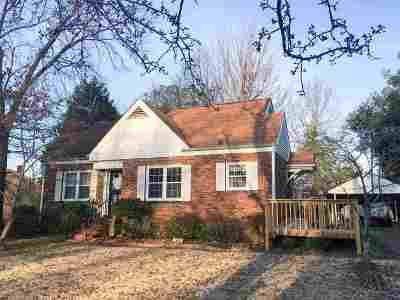 Jackson TN Single Family Home For Sale: $69,900