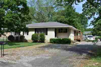 Dyersburg Single Family Home Backup Offers Accepted: 548 Shannon Ave