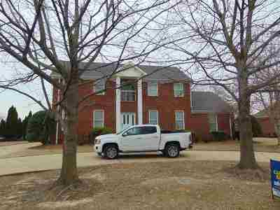 Dyersburg Single Family Home For Sale: 1630 Clubhouse