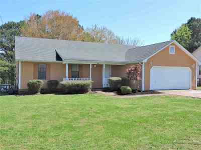 Jackson TN Single Family Home Backup Offers Accepted: $117,900