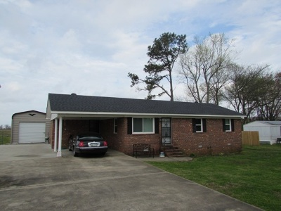 Newbern Single Family Home For Sale: 5621 Tatumville Rd.