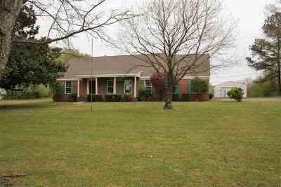 Dyersburg Single Family Home For Sale: 3752 Highway 78