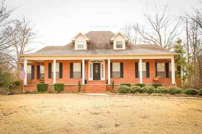 Dyersburg Single Family Home For Sale: 1165 Foxridge Run