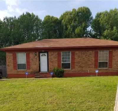 Jackson TN Single Family Home For Sale: $49,900