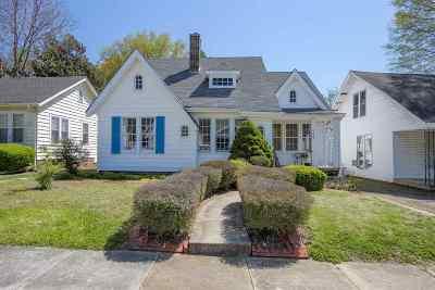 Jackson TN Single Family Home For Sale: $79,900