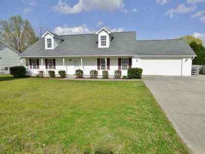 Jackson TN Single Family Home For Sale: $175,000