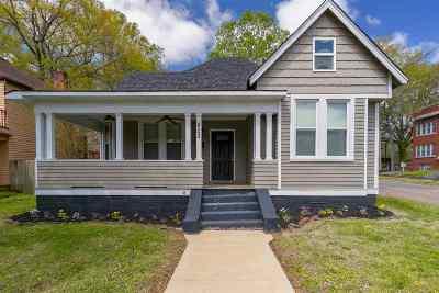 Jackson TN Single Family Home For Sale: $129,900