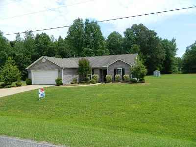 Henderson County Single Family Home For Sale: 438 Juno Bargerton Road