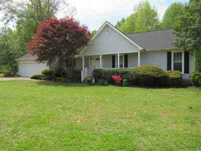 Dyersburg Single Family Home For Sale: 31 Pine Ridge Rd