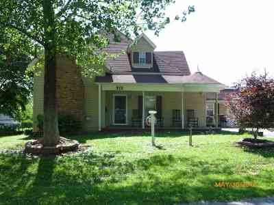 Dyer Single Family Home For Sale: 212 Linden Street