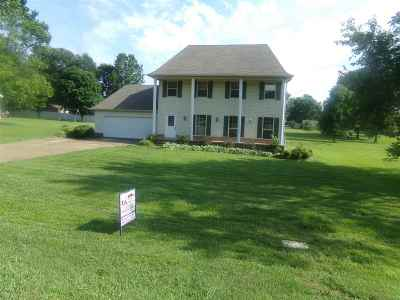 Weakley County Single Family Home For Sale: 122 Sugar Ln