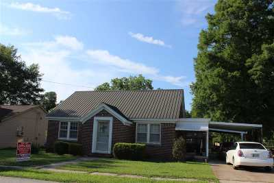 Crockett County Single Family Home For Sale: 125 E Main Street